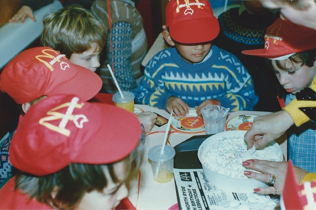 A McDonald's Birthday Party
