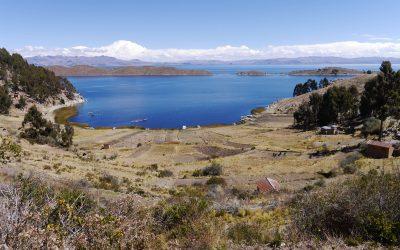 Una excursión al lado del lago