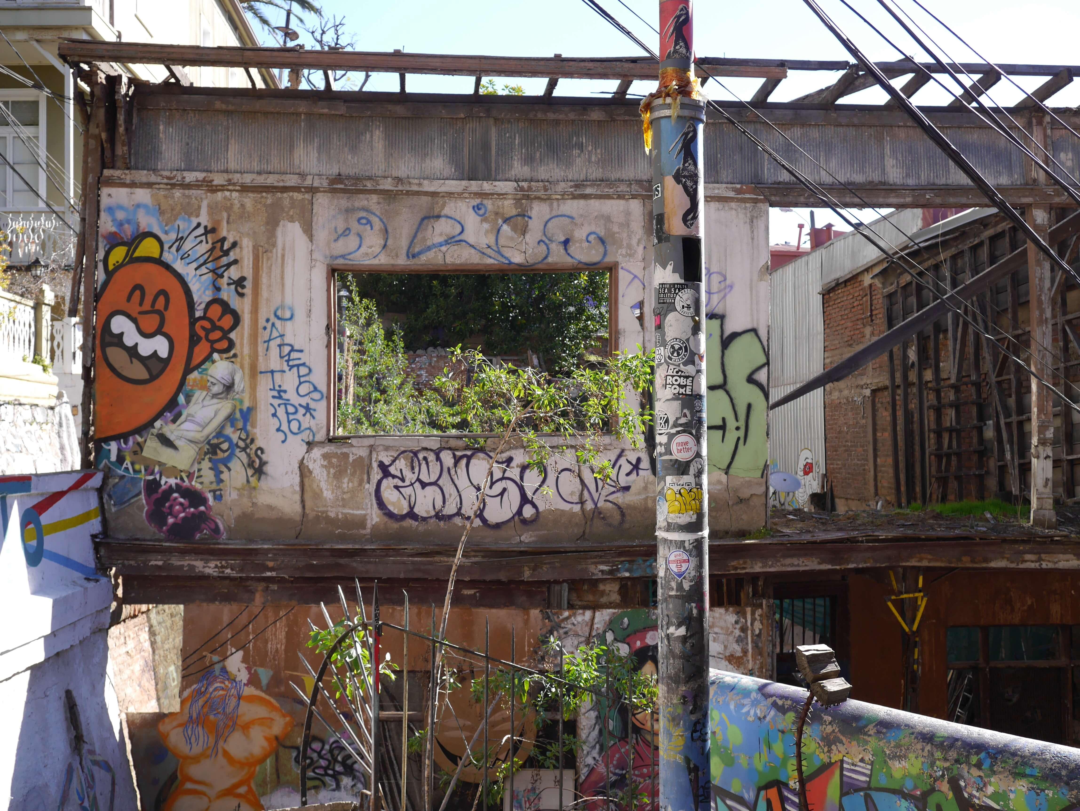 Grafiti-Valparaíso-Chile
