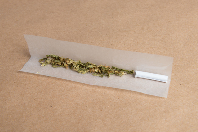 Joint-unrolled-weed-filter